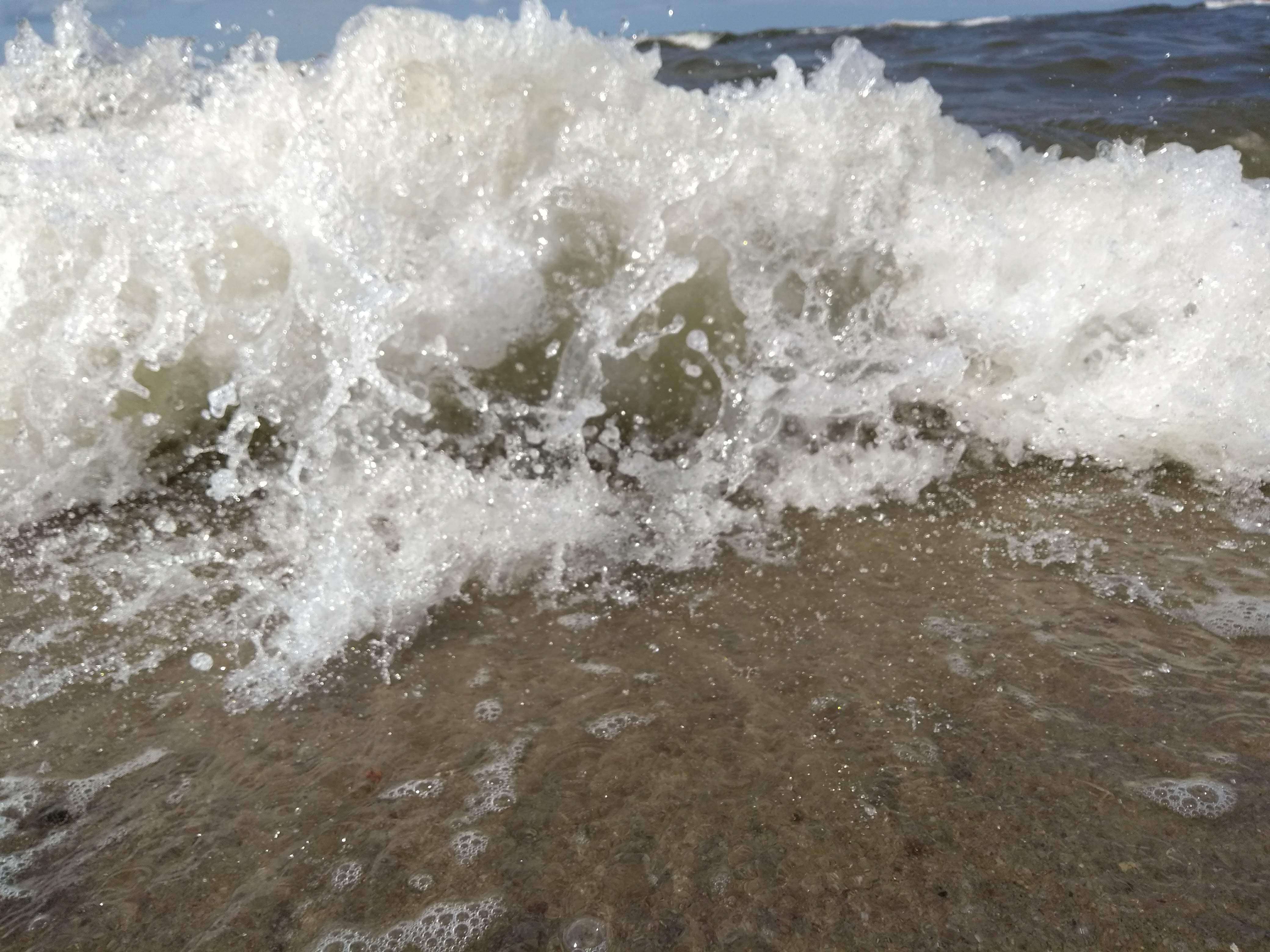 Meeresrauschen an der Kurischen Nehrung